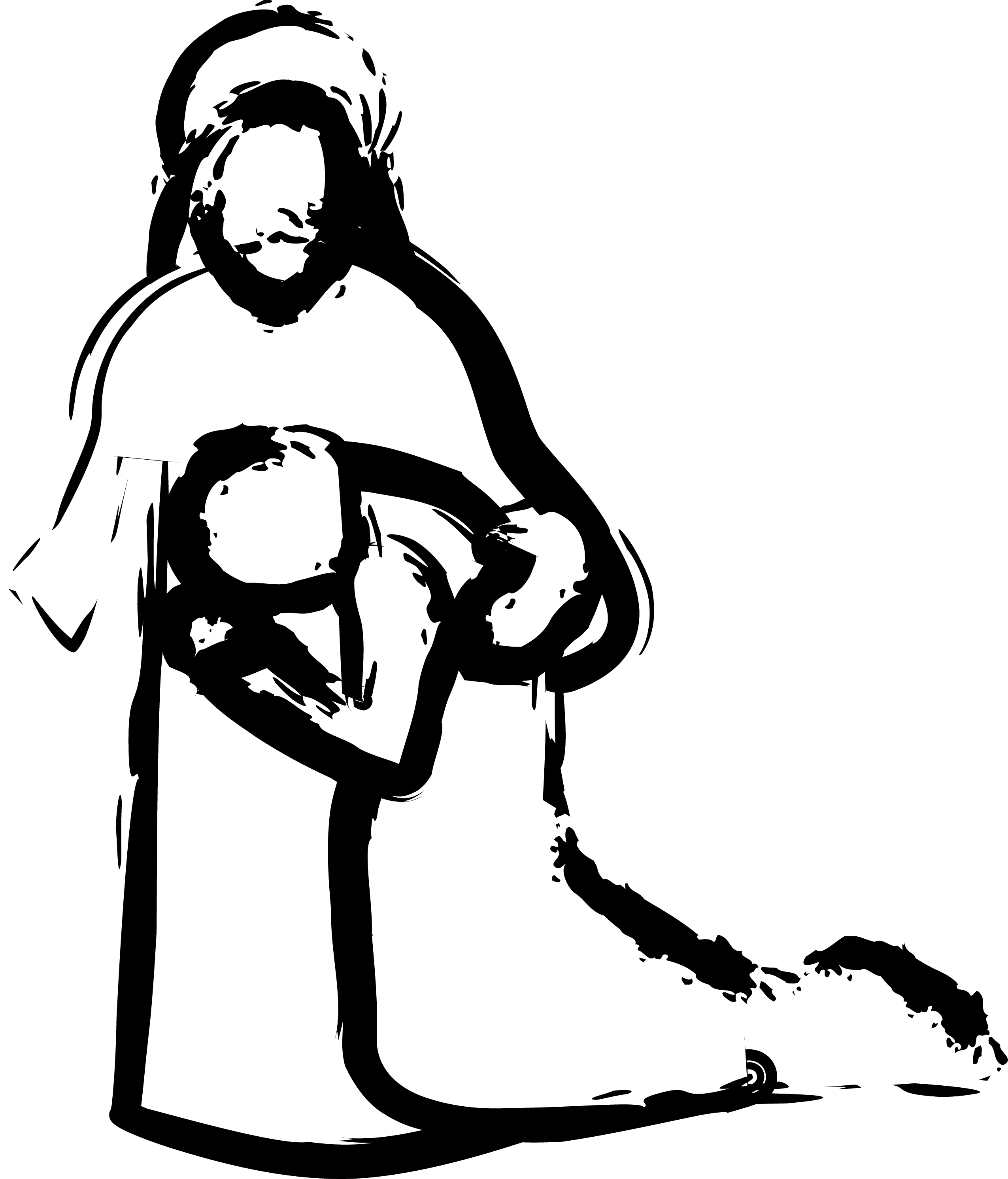 clipart of jesus healing - photo #28