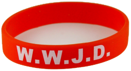 8050003-adult-red-band-with-white-print-wwjd-what-would-jesus-do-silicone-band-christian